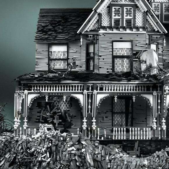Viktorijos epochos namai iš Lego