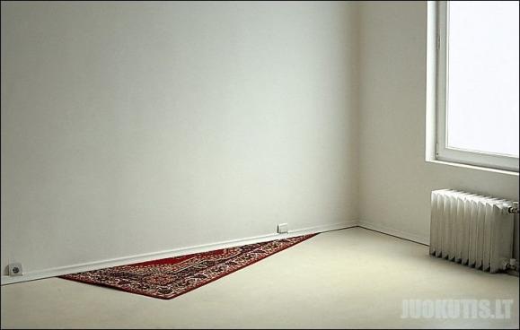 Neįprasti kilimėliai