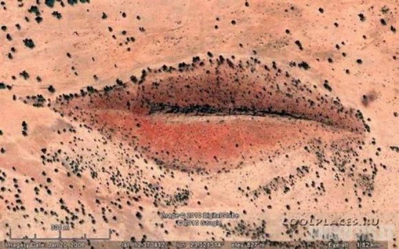 Ką galima pamatyti Google Earth