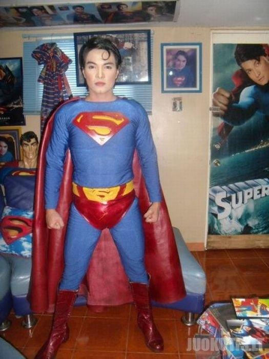 Jis norėjo būti panašus į supermeną