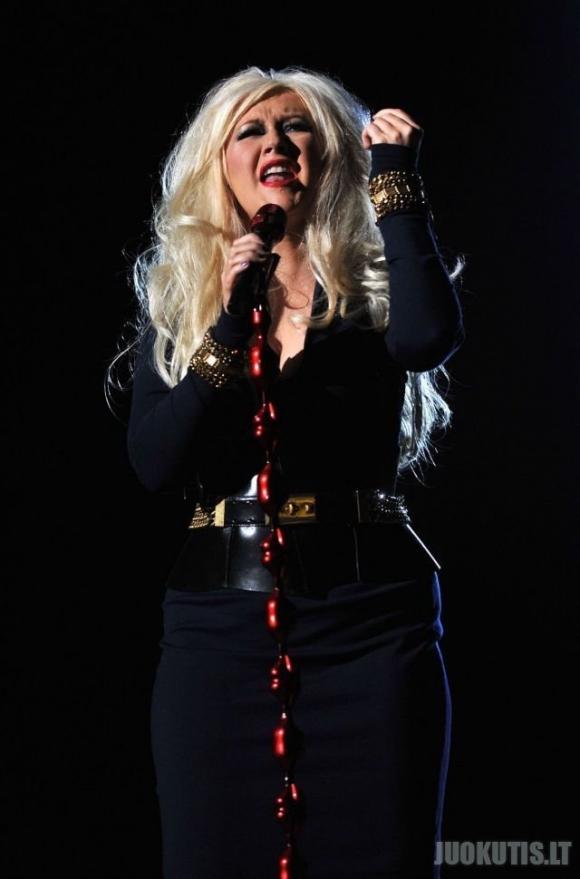 Sustorėjusi Christina Aguilera
