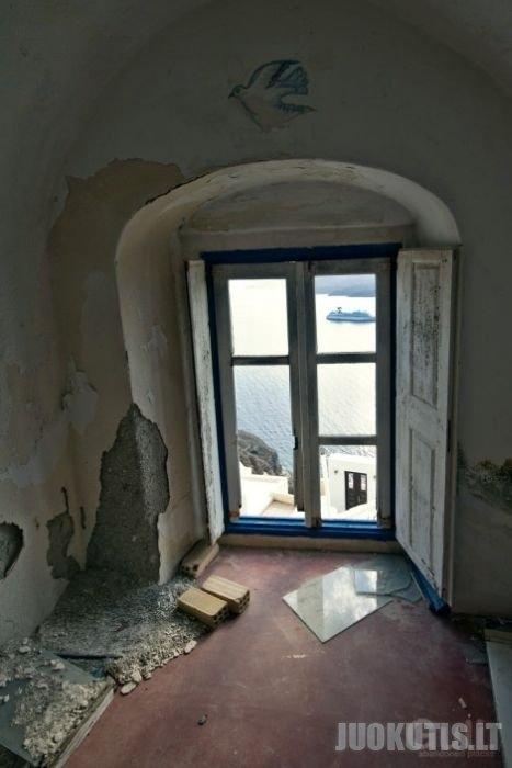 Apleistas viešbutis Graikijoje