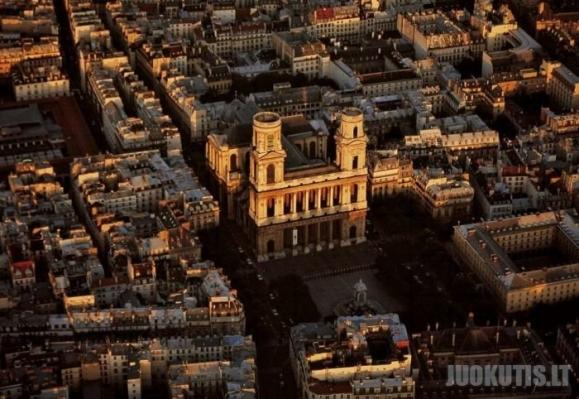 Paryžius iš paukščio skrydžio