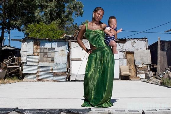 Išleistuvės Pietų Afrikos lūšnynuose