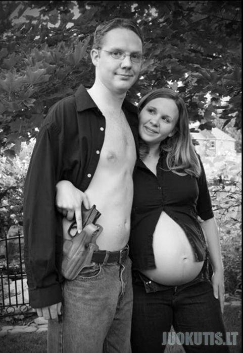 Įdomios ir juokingos nėščiųjų nuotraukos