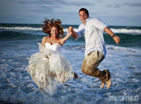 Vestuvės purve