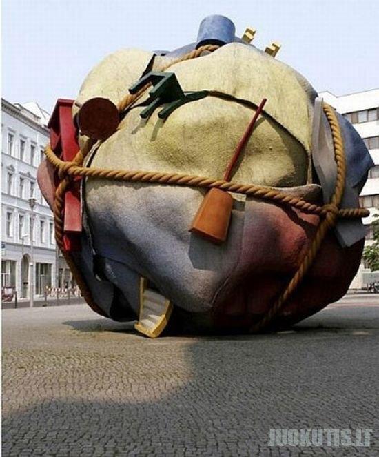 Skulptūros iš viso pasaulio