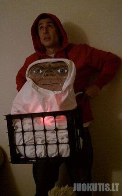 Juokingi Helovyno kostiumai