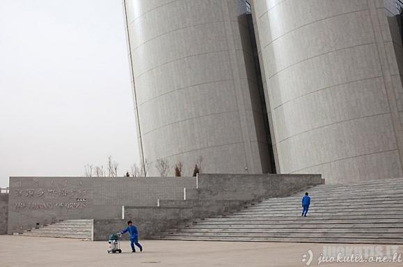 Miestas-vaiduoklis Kinijoje