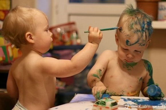 Juokingos vaikų nuotraukos
