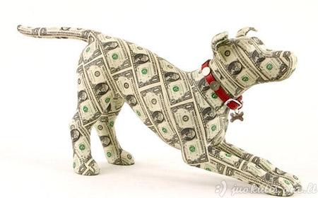 Menas iš pinigų