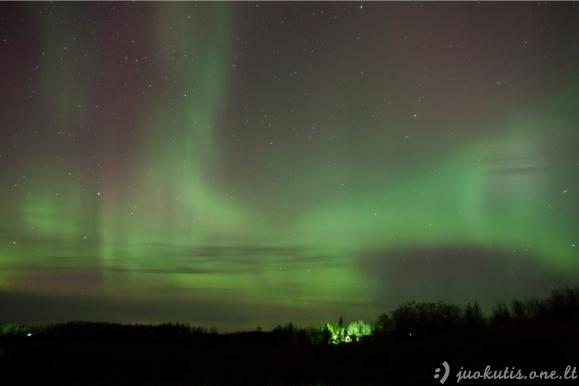 Stebuklingas Norvegijos dangus