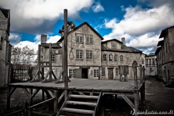 Autentiškas viduramžių miestas