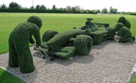 Topiary menas
