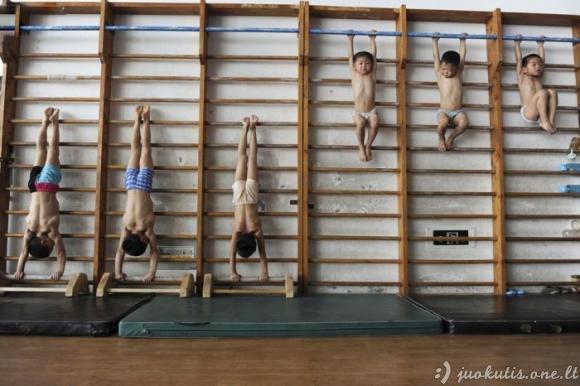 Gimnastikos mokykla Kinijoje