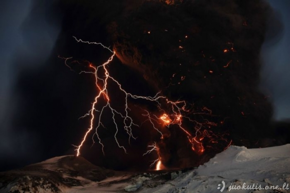 Vulkaniniai žaibai