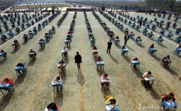 Kova su nusirašinėjimu Kinijoje