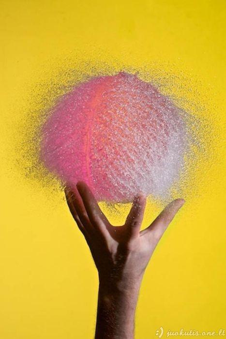 Sprogę oro balionai