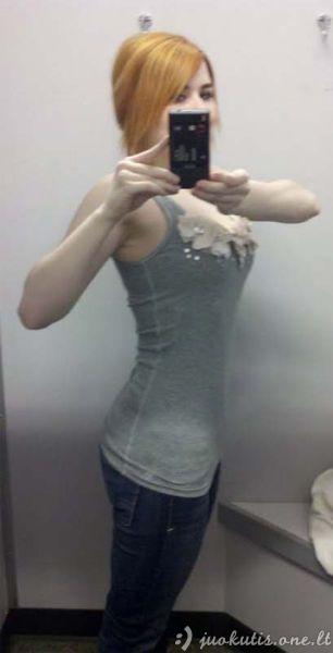 Mergina numetė 32 kilogramus