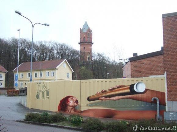 Gatvės menininkas Tasso