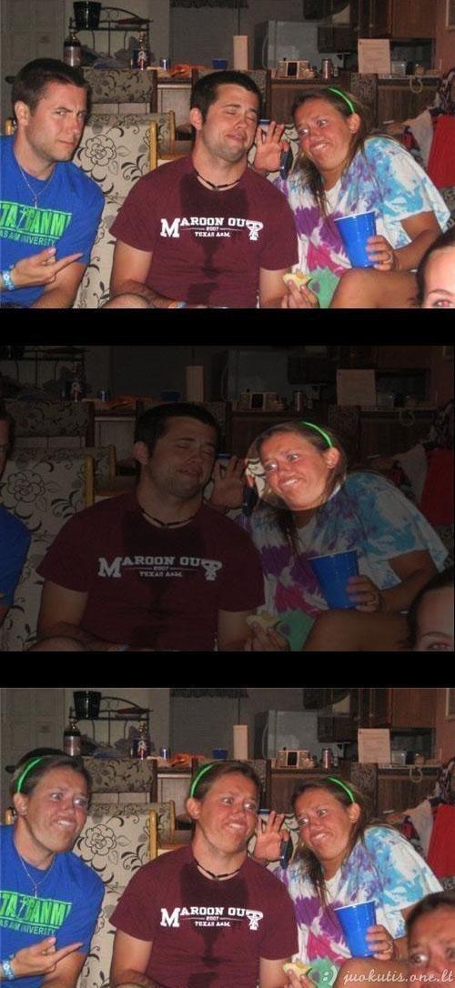 Juokingas fotošopas