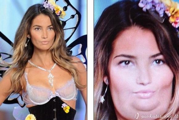 Kas būtų jeigu Victoria's Secret angelai priaugtų svorio