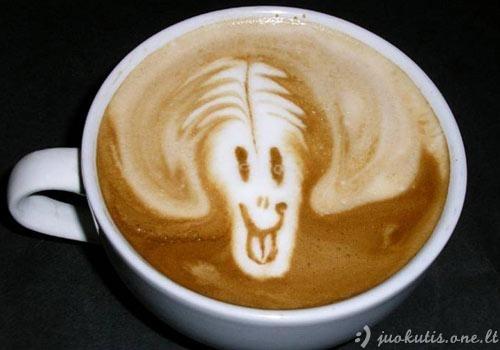 Žvėreliai kavos puodelyje