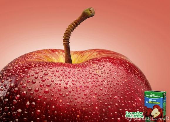 Keista maisto reklama