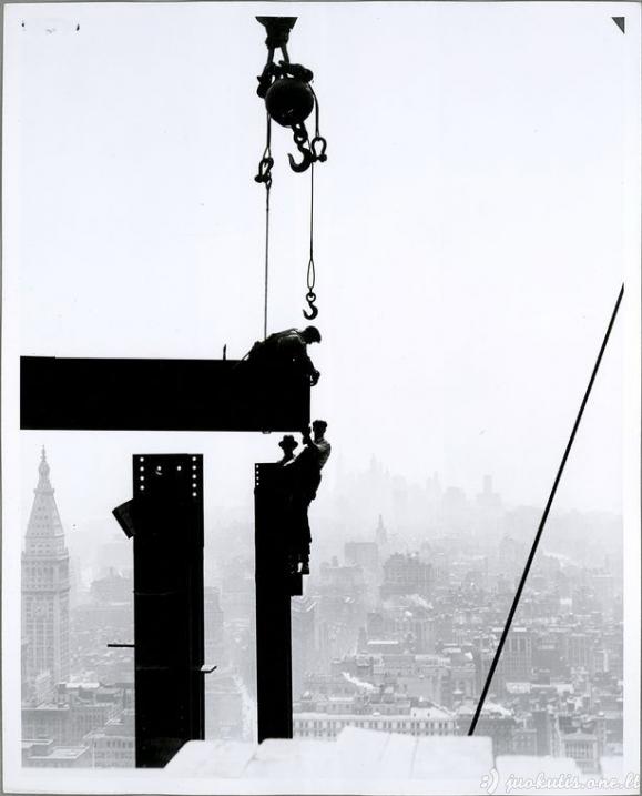 Kaip buvo statomas Niujorkas