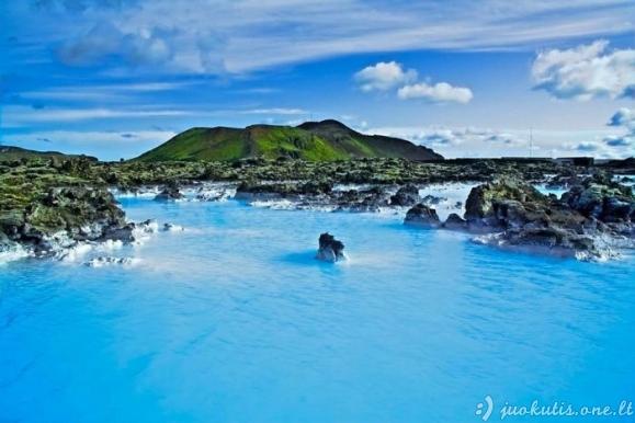 Mėlynoji lagūna Indonezijoje