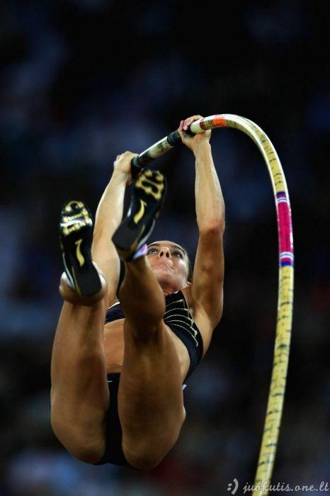 Gražios moterys sporte