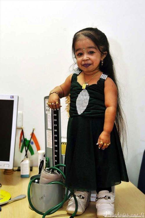 Mažiausia moteris pasaulyje