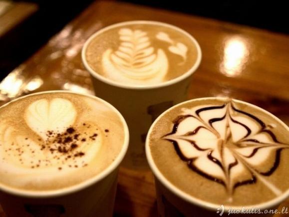 Šiek tiek naujo latte-meno