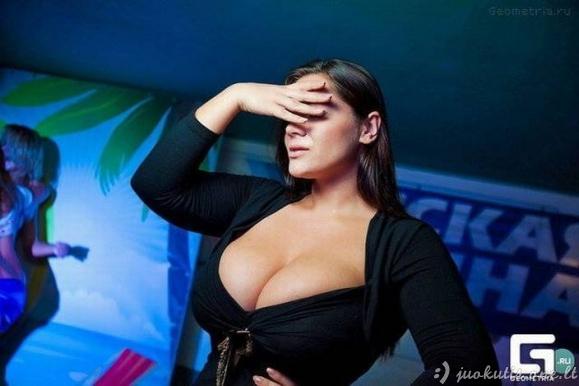 Didžiausia natūrali Rusijos krūtinė