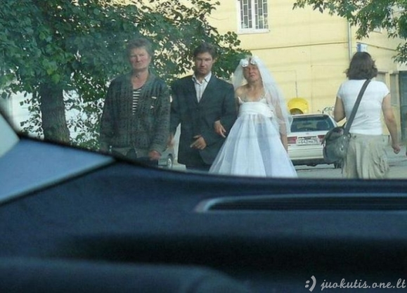 Keistos vestuvės