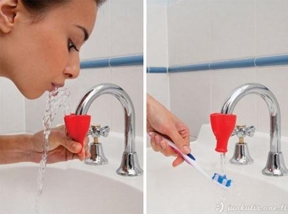 Įtaisas patogiam dantų valymui