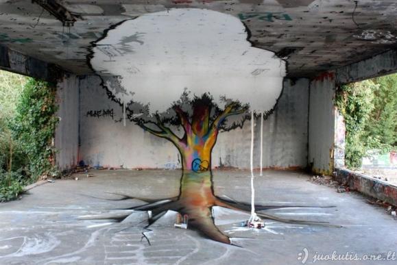 Geriausi metų gatvės meno pavyzdžiai