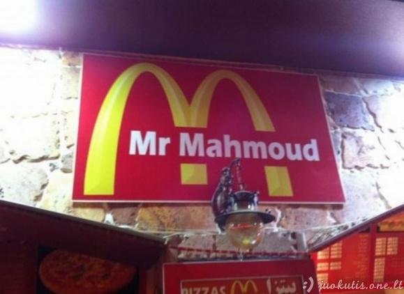 Padirbti McDonald's