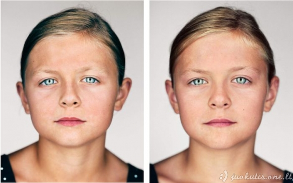 Identiškų dvynių nuotraukos