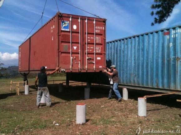 Gyvenimas konteineryje