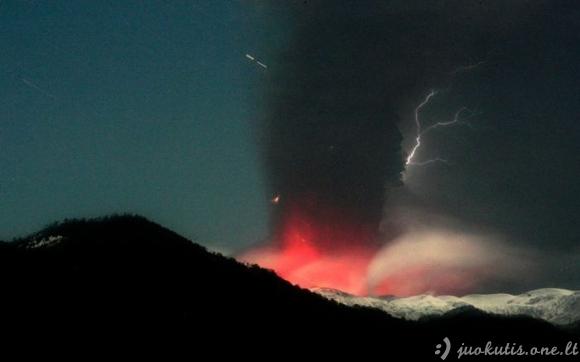 Ugnikalnių pelenai