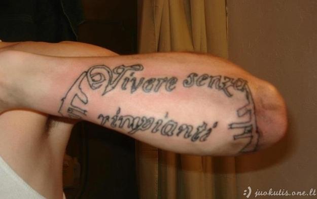 Blogiausio tattoo-meistro portfolio