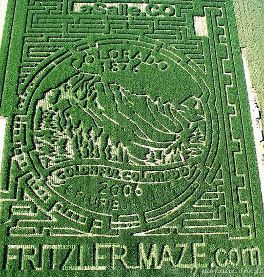 Kukurūzų labirintai