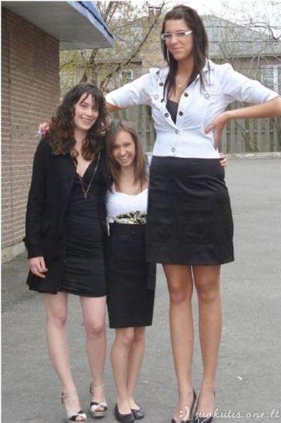 Moterys milžinės