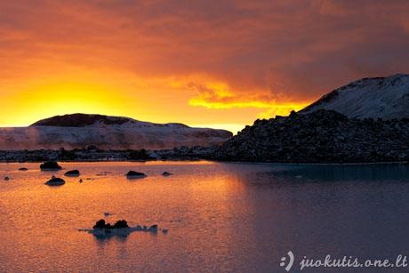 Nuostabūs saulėlydžiai