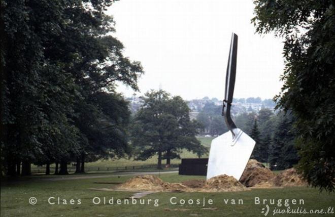 Milžiniškos Claes Oldenburg skulptūros