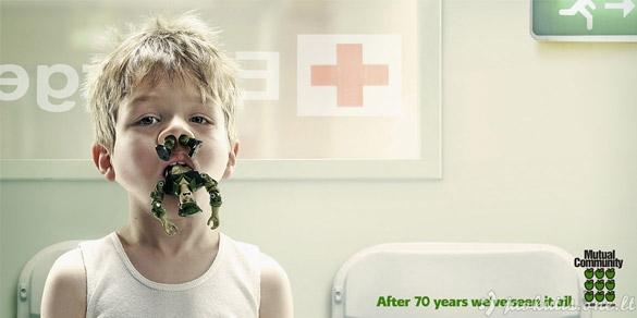 Juokingi reklaminiai printai