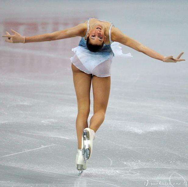 Juokingi čiuožikų veidai