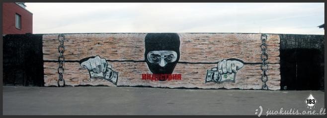 Gatvės menininkas Pavel 183