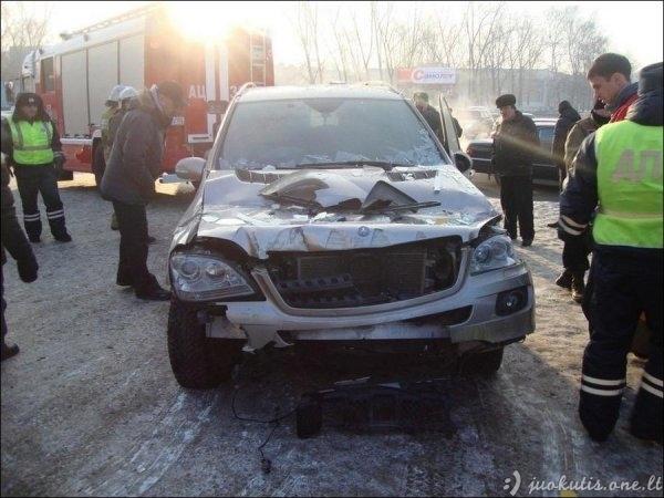 Rusijos keliai ir vairuotojai